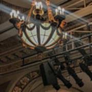 Lights Of Broadway Art Print