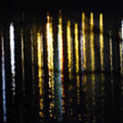 Lights On The Water Art Print