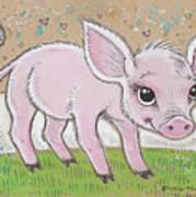 Lil Piglet Art Print