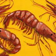 Lil Shrimp Art Print