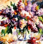 Lilac - Morning Mood Art Print