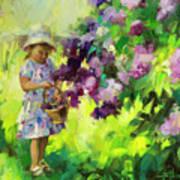 Lilac Festival Art Print