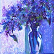 Lilac Rain  Art Print
