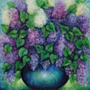 Lilacs No 1. Art Print
