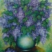 Lilacs No 2. Art Print