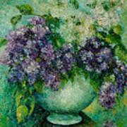 Lilacs No 4. Art Print