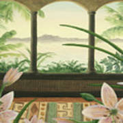 Lilies In Paradise Art Print