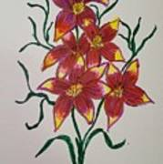 Lillies Art Print