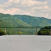 Lilly Bridge - Hinton West Virginia Art Print