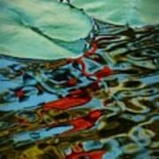 Lily Pond Abstract Art Print