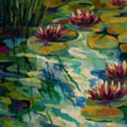 Lily Pond II Art Print