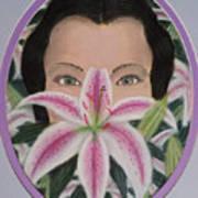 Lily's Eyes Art Print
