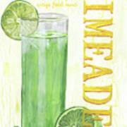 Limeade Art Print