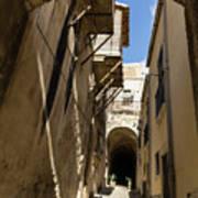 Limestone And Sharp Shadows - Old Town Noto Sicily Italy Art Print