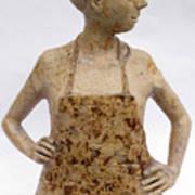 Lina the Ceramist Art Print