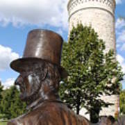 Lincoln At The Tower Art Print