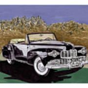 Lincoln Continental Mk I Art Print