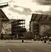 Lincoln Financial Field Art Print by Jack Paolini