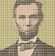 Lincoln - Gold Art Print