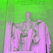 Lincoln In Green Art Print