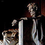 Lincoln Memorial In Washington D.c. Art Print