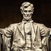 Lincoln Monument Art Print