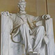 Lincoln Statue Art Print