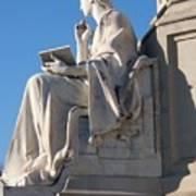 lincoln statue Gettysburg PA Art Print