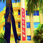 Lincoln Theatre - Sobe Art Print