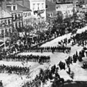 Lincolns Funeral Procession, 1865 Art Print by Photo Researchers, Inc.
