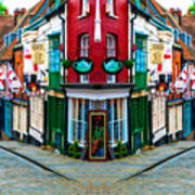Lincoln's Steep Hill Art Print