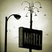 Lincolnwood Motel District Art Print