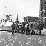 Lindbergh Parade, 1927 Art Print