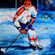 Lindros Art Print