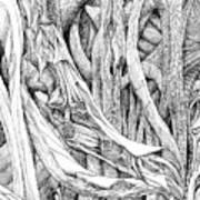 Line 8 Art Print