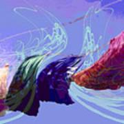 Line Dance Art Print