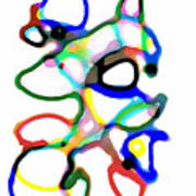 Line Design Creative Art Print