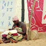 Linen For Sale Madagascar Art Print