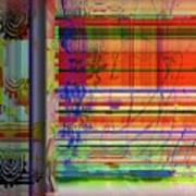 Lines Of Illusion Art Print