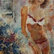 Lingerie 57 Art Print