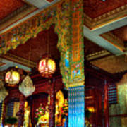Lingyen Mountain Temple 1 Art Print