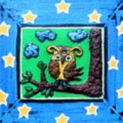 Lint Owl Art Print