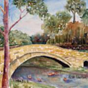 Linton Beck Yorkshire Art Print