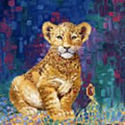 Lion Prince Art Print
