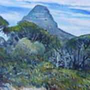 Lions Head Cape Town South Africa 2016 Art Print