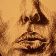 Lips Are Beautiful Art Print