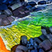 Liquid Abstract Eleven Art Print