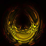 Liquid Aurora 2 Art Print