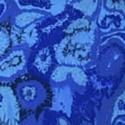 Liquid Blue Dream - V1lle30 Art Print