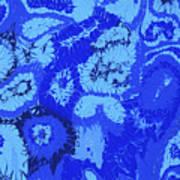 Liquid Blue Dream - V1sl100 Art Print